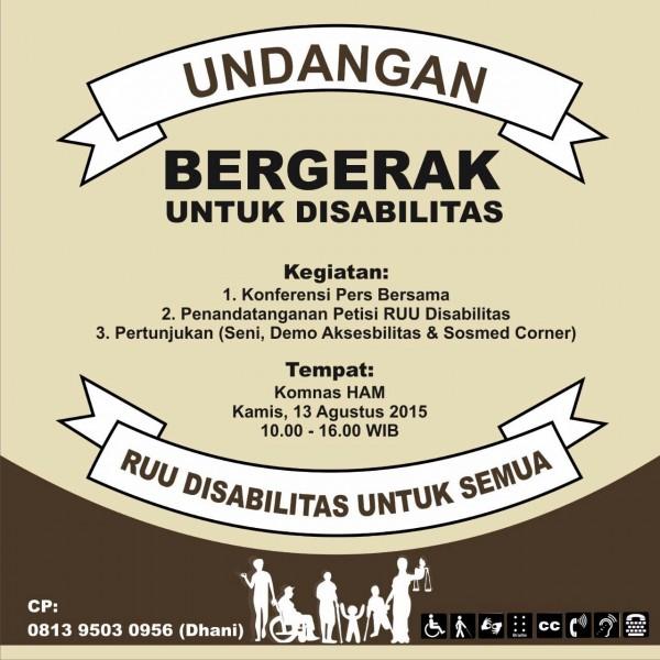 Gambar Undangan Bergerak Untuk Disabilitas